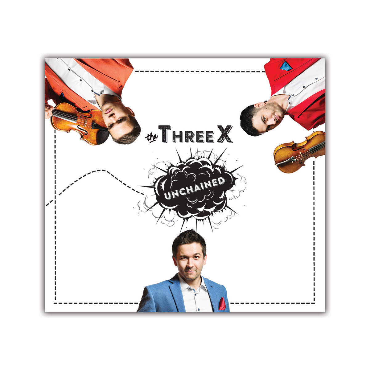 The ThreeX- Unchained <br> Audio CD </br>