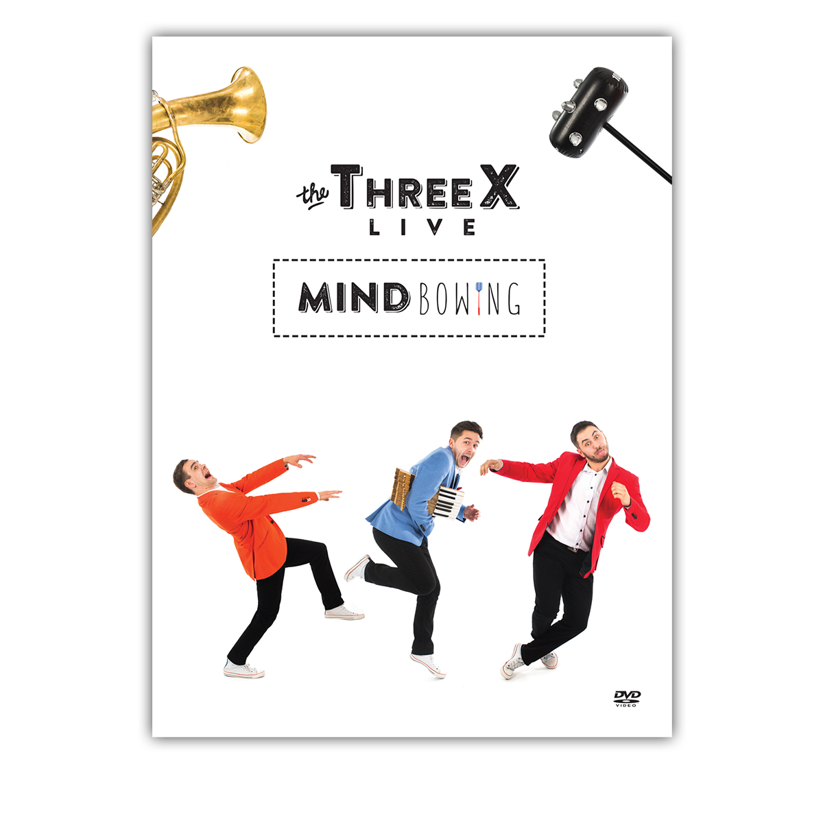 The ThreeX Live - MindBowing <br>DVD Video </br>